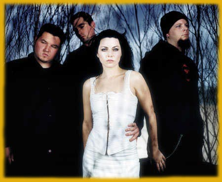 Enter to Evanescence homepage